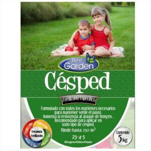 fertilizante cesped