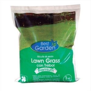 semilla lawn grass con trebol 1 kilo